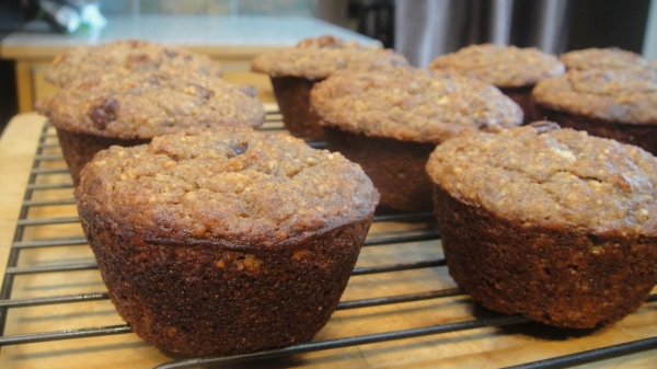 Paleo Banana Chcolate Pecan Muffins-033