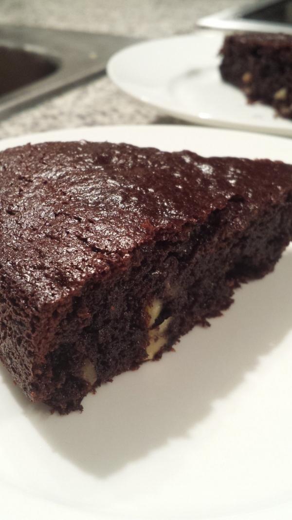 Paleo Hazelnut Chocolate Walnut Cake