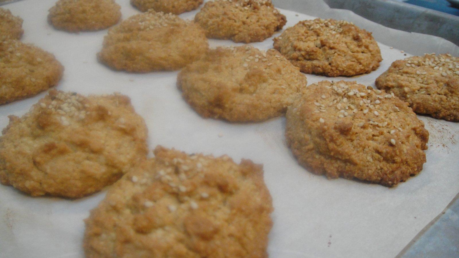 Recipe #103 | Tahini Almond Cookies