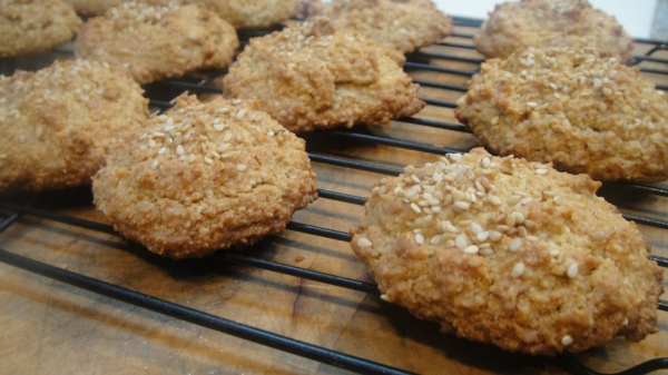 Tahini Almond Cookies-014