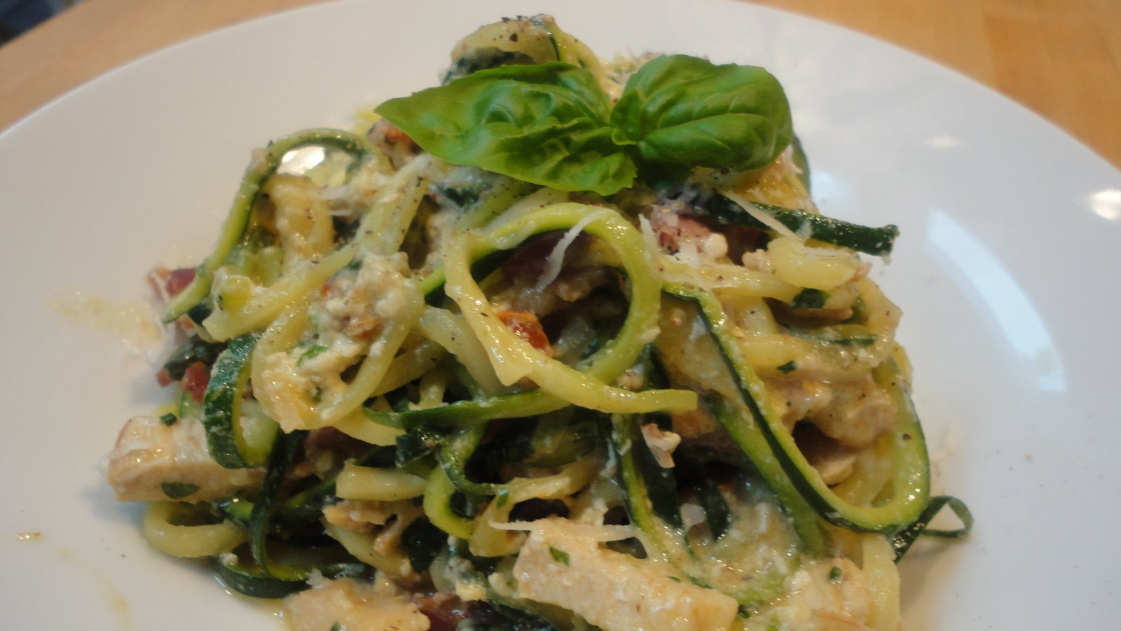 carbonara zucchini spaghetti carbonara zucchini carbonara 2 zucchini ...