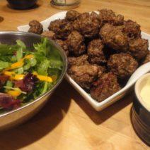 Recipe #33 | Meatballs and Mayo