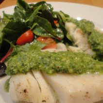 Recipe #49 | Seared Cod And Mint Pesto