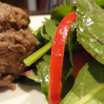 Recipe #56   Apple Butter Bison And Beef Mini Loafs