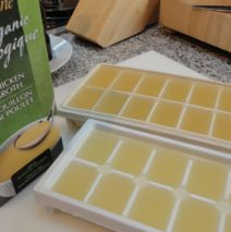 Recipe #54 | Chicken Stock Ice Cubes
