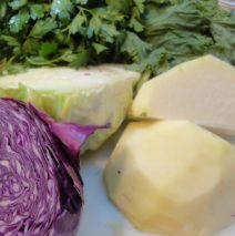 Recipe #69 | Kohlrabi Kale And Cabbage Coleslaw