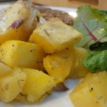 Recipe #71 | Rosemary Roasted Acorn Squash And Sweet Potatoes