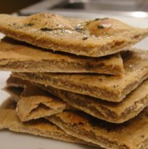 Recipe #83 | Simple Cassava Crackers