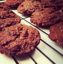 Recipe # 86 | Almond Chocolaty Chip Cookies