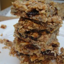 Recipe #92 | Paleo Lemon Cranberry Granola Bar