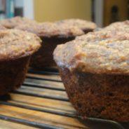 Recipe 102 | Banana Chocolate Pecan Muffins