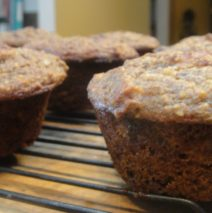 Recipe 102 | Banana Chocolate Pecan Muffins