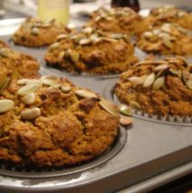 Recipe # 105 | Pumpkin Pecan Muffin