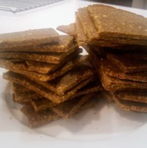 Recipe #115 | Buckwheat Sweet Potato Crackers